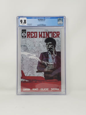 CGC Graded - Red Winter #3- 9.8