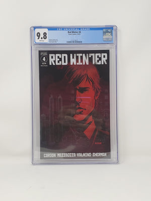 CGC Graded - Red Winter #4- 9.8