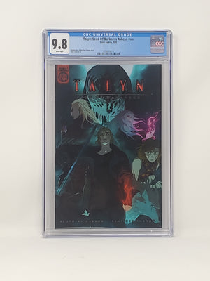 CGC Graded - Talyn: Seed Of Darkness - Ashcan Preview - 9.8
