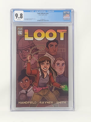 CGC Graded - Loot - Ashcan Preview - 9.8