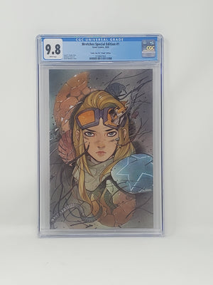 CGC Graded - Wretches #1 - Virgin Comic Tom Exclusive - 9.8