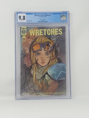 CGC Graded - Wretches #1 - Comic Tom Exclusive - 9.8