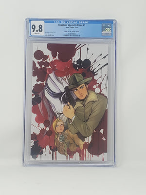 CGC Graded - Headless #1 - Virgin Comic Tom Exclusive - 9.8