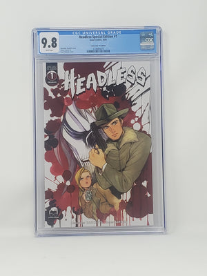 CGC Graded - Headless #1 - Comic Tom Exclusive - 9.8