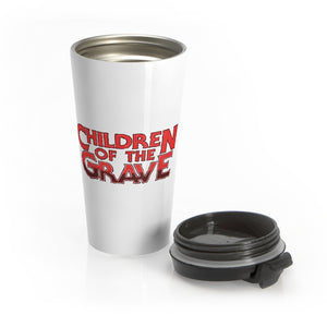 Children Of The Grave (Logo Design) - Stainless Steel Travel Mug