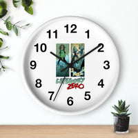 Category Zero (Logo Girl Design) - Wall Clock