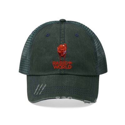 Rabid World (Bloody Design) - Unisex Trucker Hat