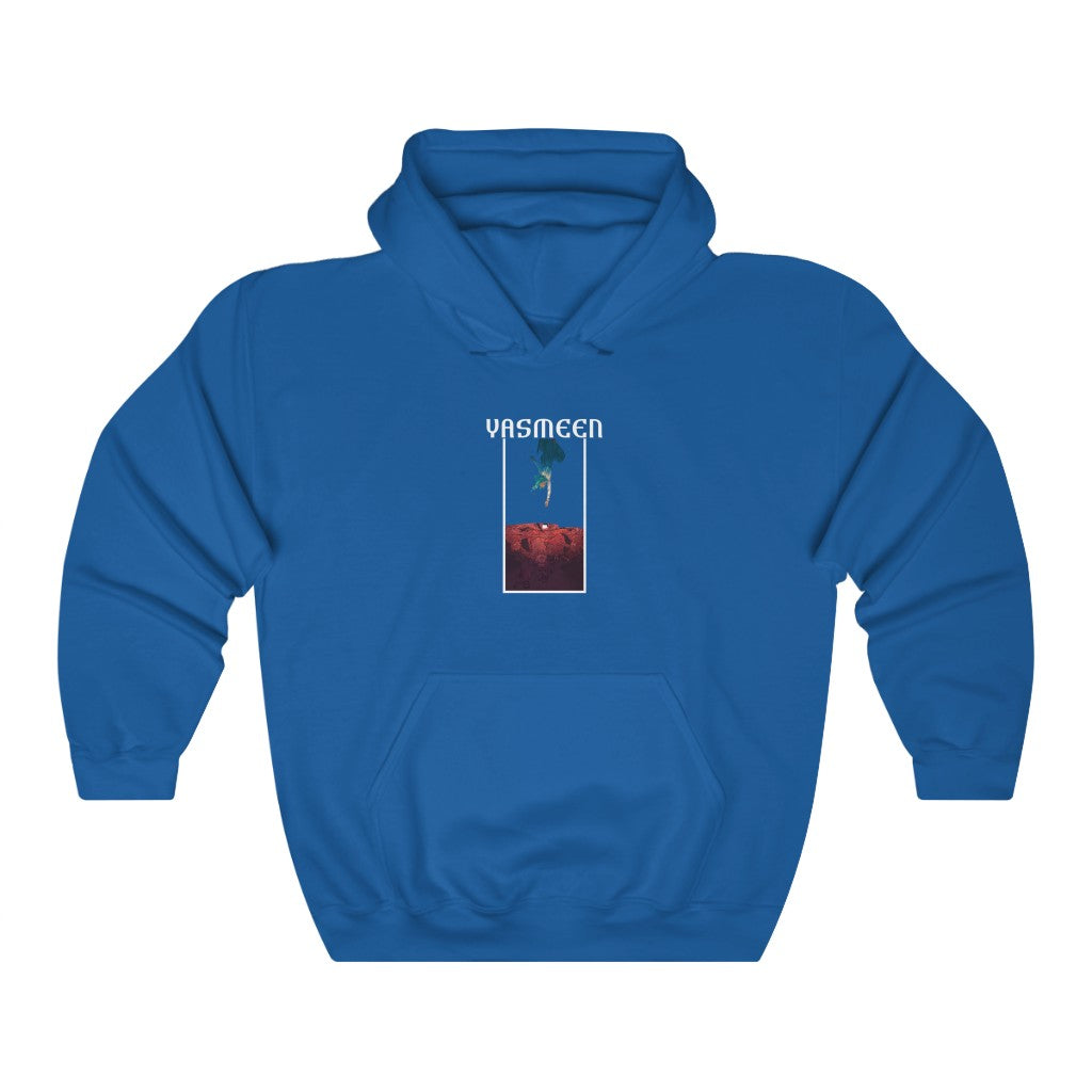 Yasmeen (Cover Design) - Heavy Blend™ Hooded Sweatshirt