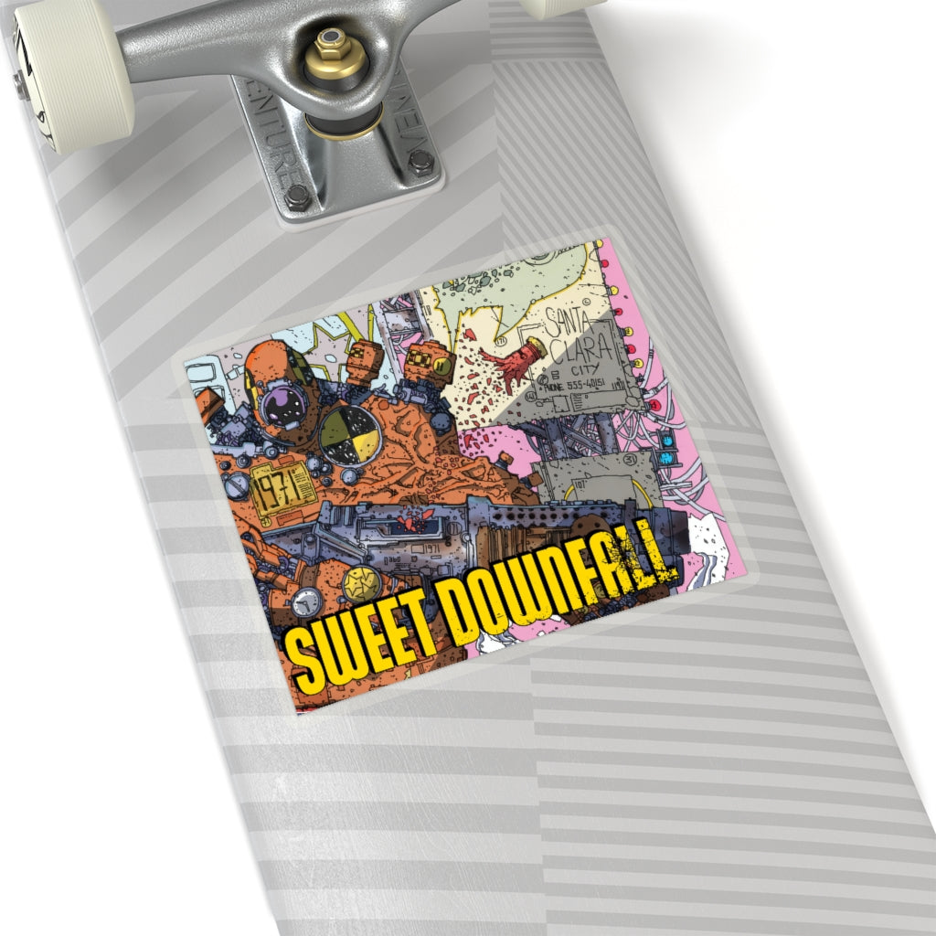 Sweetdownfall (Issue #2 Cover) - Kiss-Cut Stickers