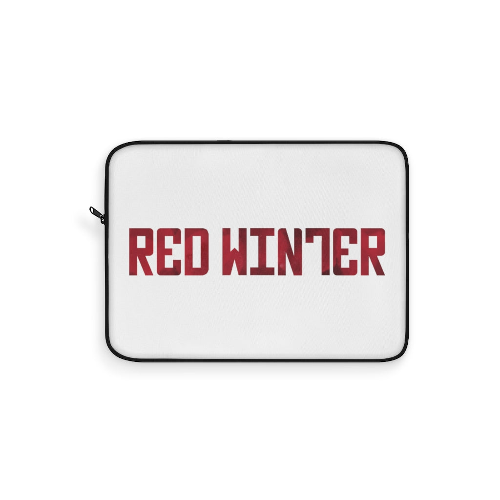 Red Winter (Logo Design)  - Laptop Sleeve