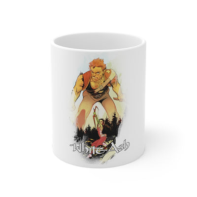 White Ash (Chapter IX Design) - 11oz Coffee Mug