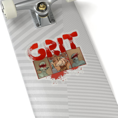 GRIT (Ogre Design) - Kiss-Cut Stickers