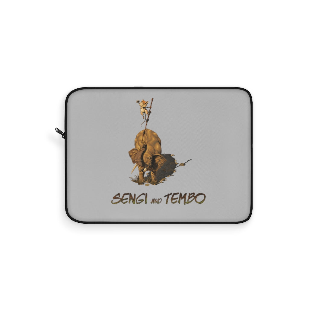 Sengi And Tembo (Logo Design) - Laptop Sleeve