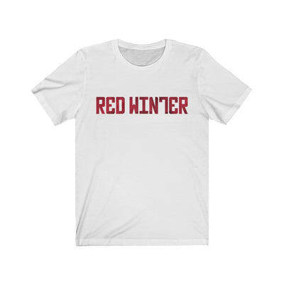 Red Winter (Logo Design)  - Unisex Jersey T-Shirt