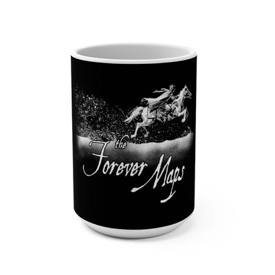 Forever Maps (Gallup Logo Design) - Black Coffee Mug 15oz