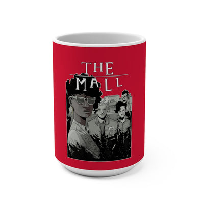 The Mall (Lost Boys Homage Design) -  Red Mug 15oz