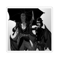 Midnight Western Theatre (Design Two) - Kiss-Cut Stickers