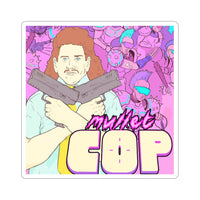 Mullet Cop (Fred Design) - Kiss-Cut Stickers