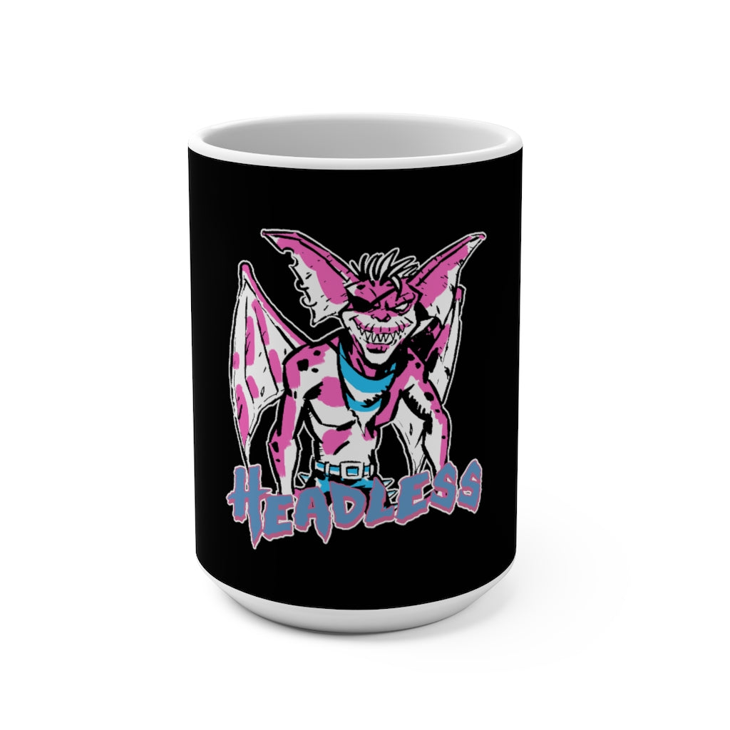 Headless (Gremlin Design) -  Black Mug 15oz