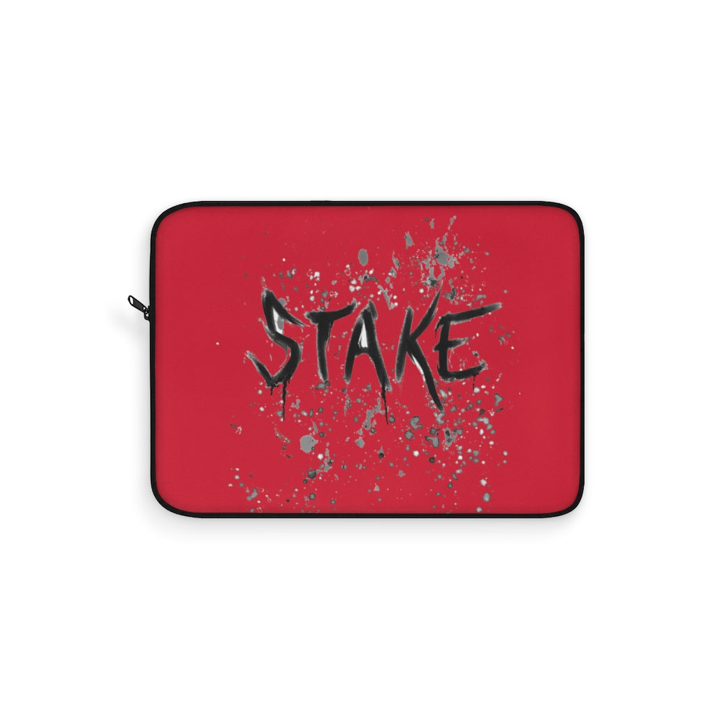 Stake (Alternative Design) - Red Laptop Sleeve