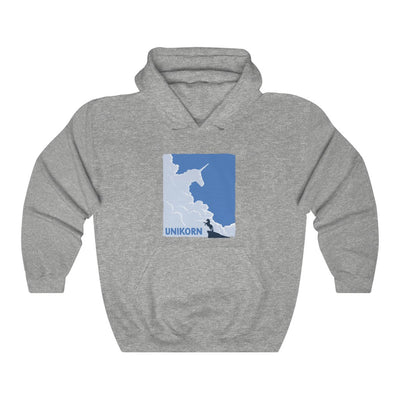 Unikorn (Cover Design) - Heavy Blend™ Hooded Sweatshirt