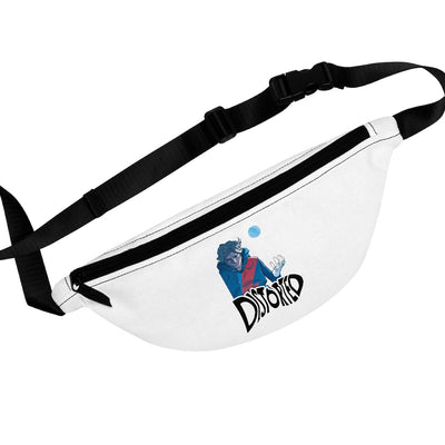 Distorted (Promo Design) - White Fanny Pack
