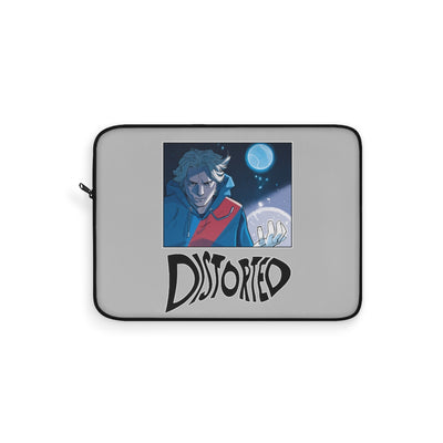 Distorted (Promo 1 Design) - Grey Laptop Sleeve