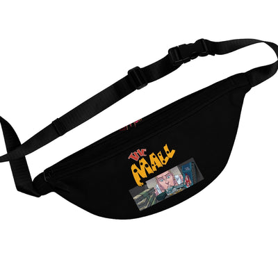 The Mall (Safe Design) - Black Fanny Pack