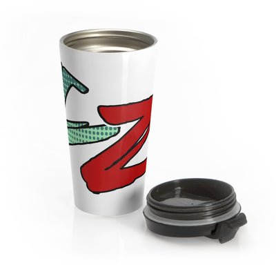 Category Zero (CZ Logo Design) - Stainless Steel Travel Mug