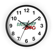 Category Zero (Logo Design) - Wall Clock