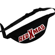 Red XMAS (Logo Design) - Black Fanny Pack