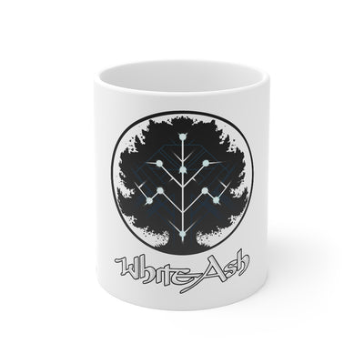 White Ash (Logo Design) - 11oz Coffee Mug