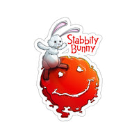 Stabbity Bunny (#1 Cover Design) - Kiss-Cut Stickers