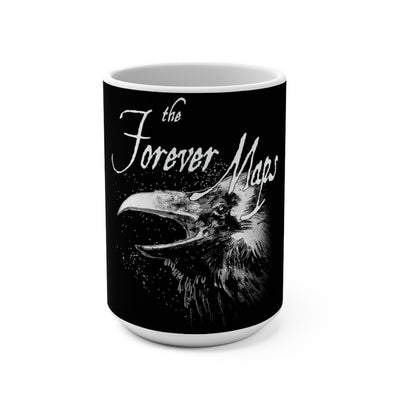 Forever Maps (Crow Logo Design) - Black Coffee Mug 15oz