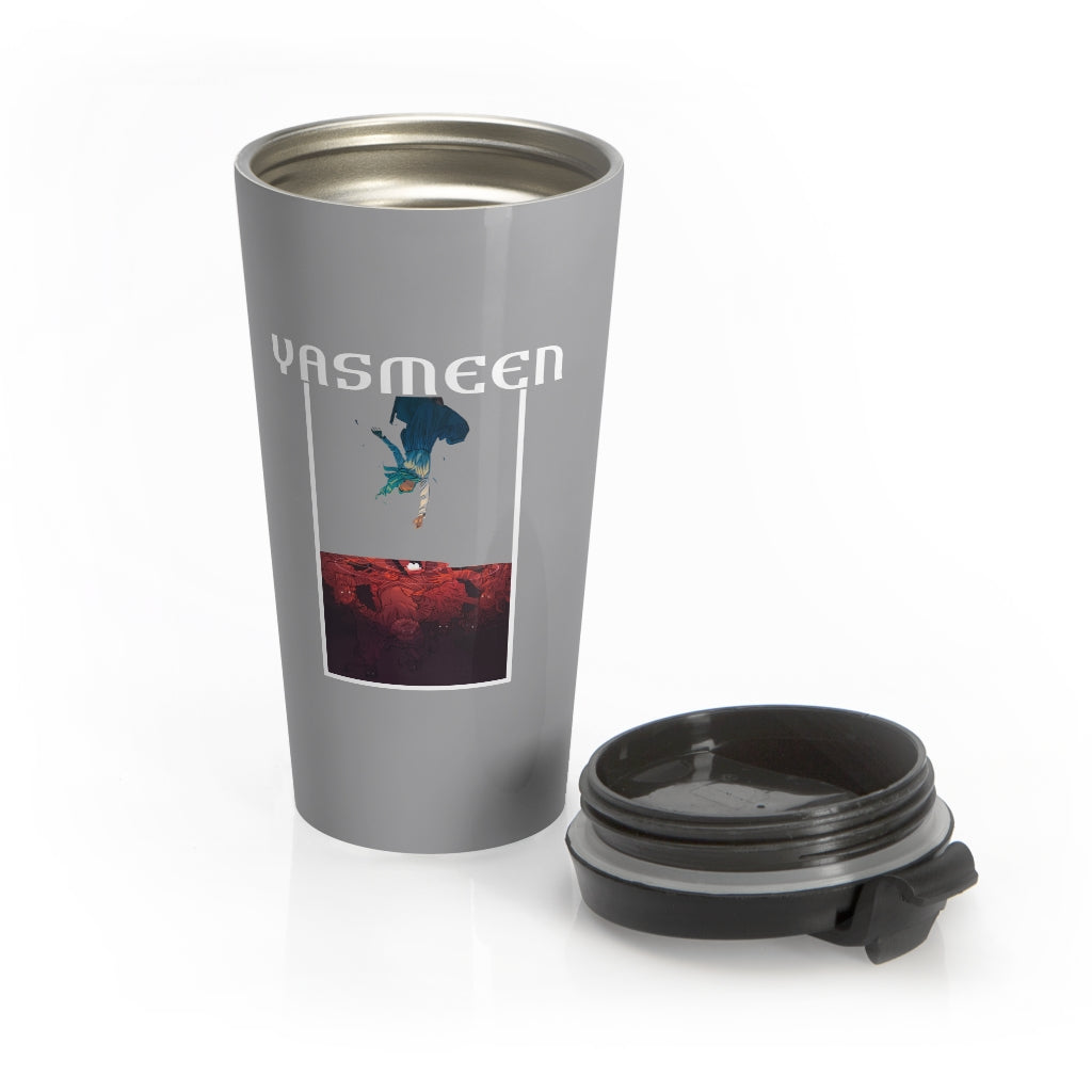 Yasmeen (Cover Design) - Stainless Steel Travel Mug