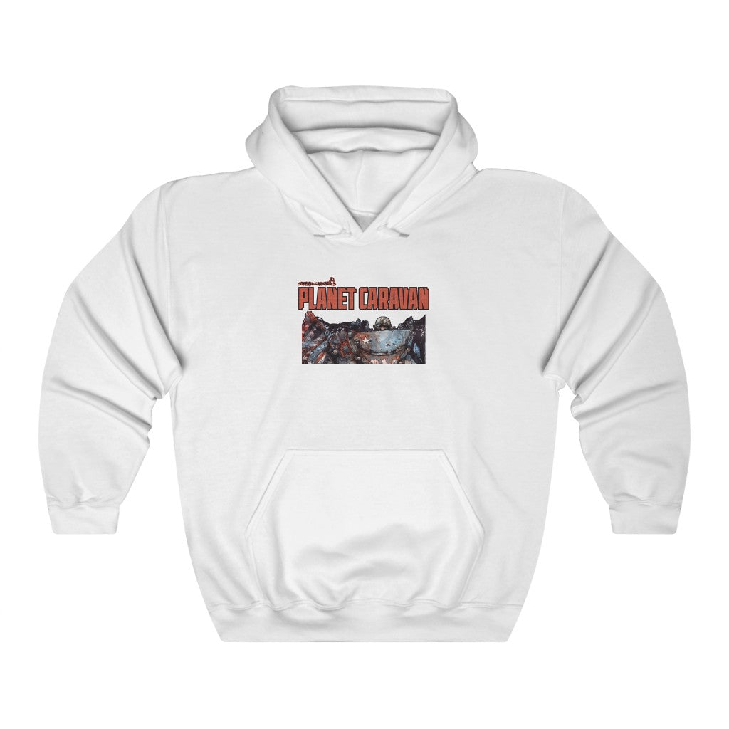 Planet Caravan (Issue 1 Design) - Heavy Blend™ Hooded Sweatshirt