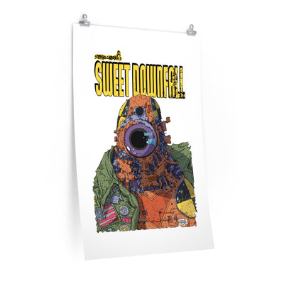 Sweetdownfall (Robot Design) - Poster