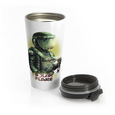 Solar Flare - Stainless Steel Travel Mug