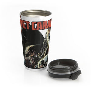 Planet Caravan (Silverbax Design) - Stainless Steel Travel Mug