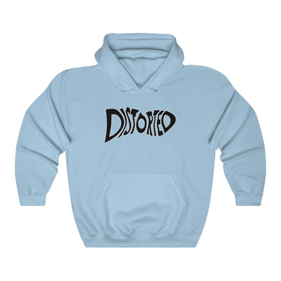 Distorted (Logo Design) - Heavy Blend™ Hooded Sweatshirt