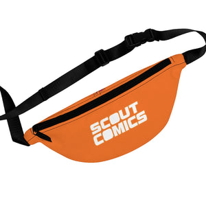 Scout Comics (White Logo Design) - Orange Fanny Pack