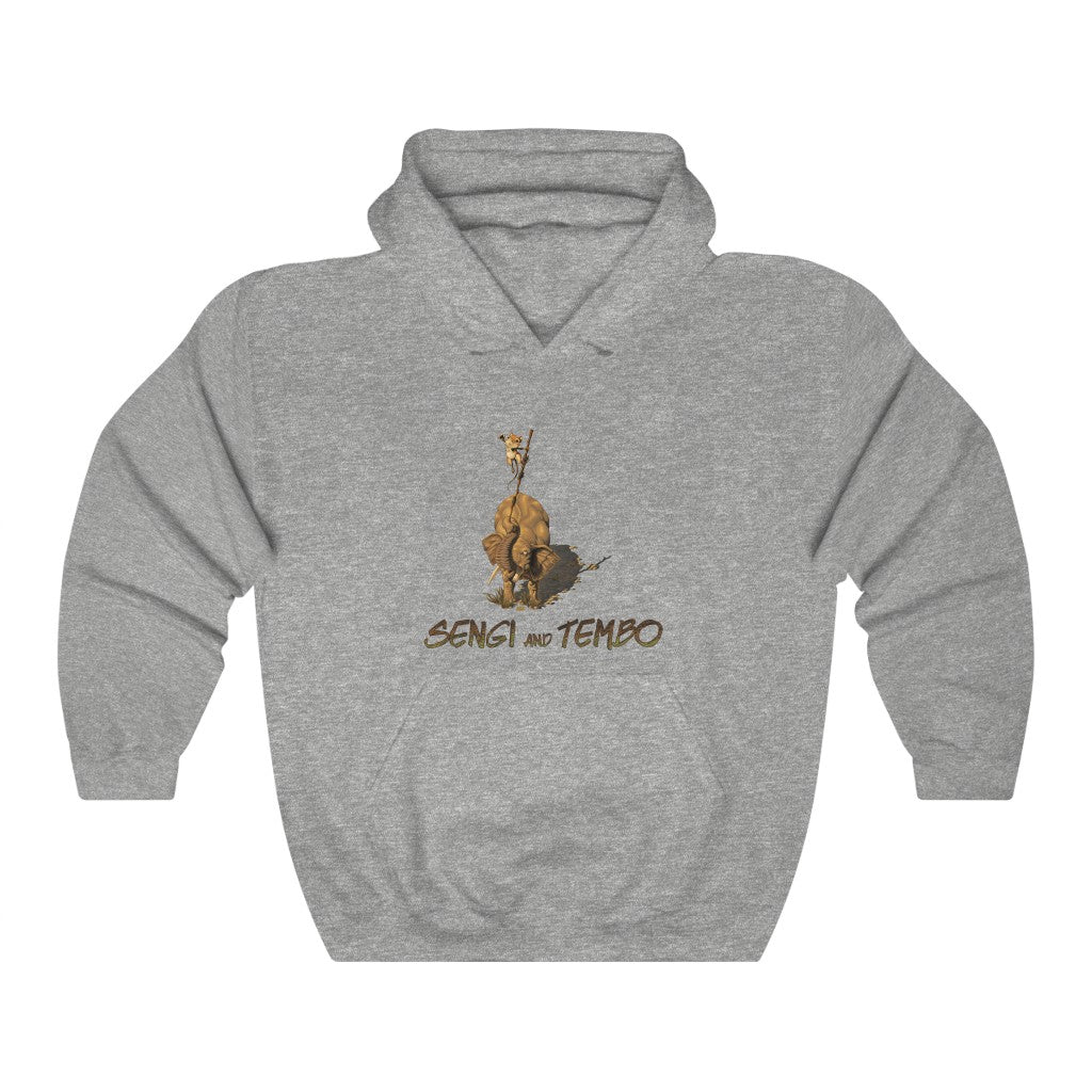 Sengi and Tembo - Heavy Blend™ Hooded Sweatshirt