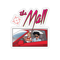 The Mall (Sports Car Design) - Kiss-Cut Stickers