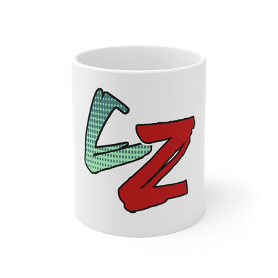 Category Zero (CZ Logo Design) - 11oz Coffee Mug
