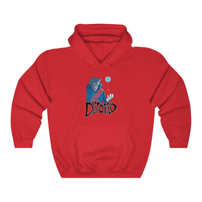 Distorted (Promo 2 Design) - Heavy Blend™ Hooded Sweatshirt