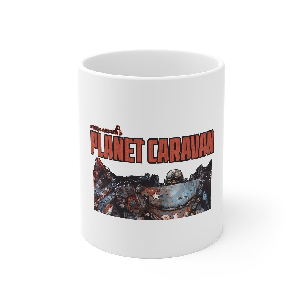 Planet Caravan (Issue 1 Design) - 11oz Coffee Mug