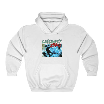 Category Zero (Shock Design)  -  Heavy Blend™ Hooded Sweatshirt