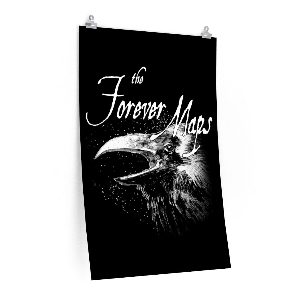 Forever Maps (Crow Design) - Poster