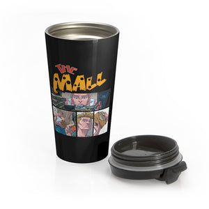 The Mall (Safe Design) - Stainless Steel Travel Mug