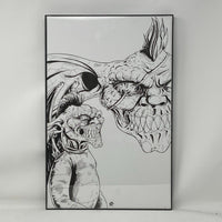 ORIGINAL ART - Headless #1 Webstore Exclusive Cover - Bryan Silverbax